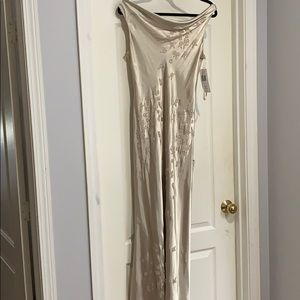 Vintage Stenay Silky Evening Gown Bia